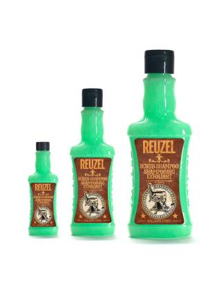 REUZEL Scrub Shampoo, шампунь-скраб для волос, 1000 мл.