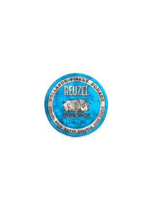 REUZEL Blue Strong Hold High Sheen Pomade, помада сильной фиксации с глянцем, 35 гр.
