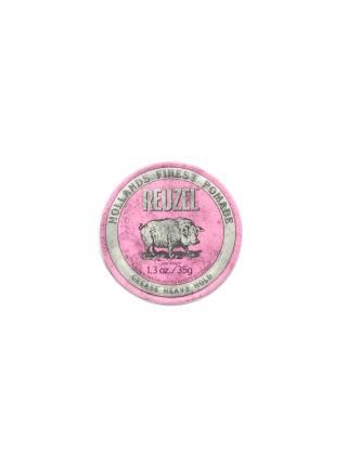 REUZEL Pink Heavy Hold Grease, помада сверхсильной фиксации, 35 гр.