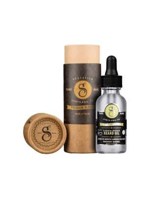 Suavecito Sandalwood Beard Oil, масло для бороды с экстрактом сандалового дерева, 30 мл