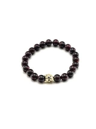 Браслет из натуральных камней Garnet Tiger