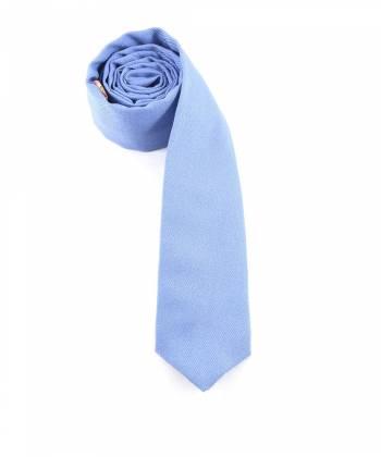 Галстук голубого цвета однотонный из шерсти Baboon
