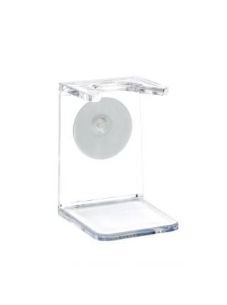 Подставка для помазка HJM, акрил, цвет прозрачный