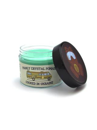 Помада для укладки волос MANLY CRYSTAL POMADE, 65 мл