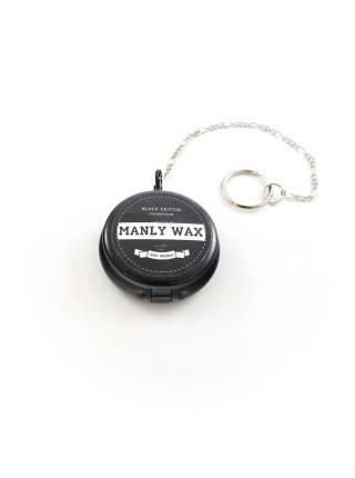 Воск для усов MANLY WAX black edition clock