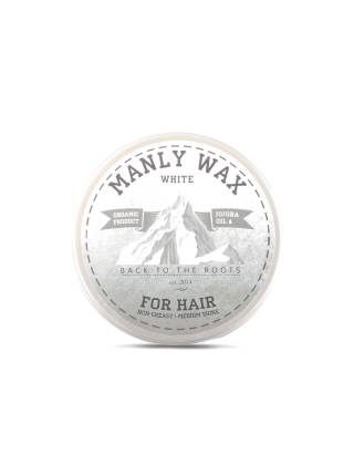 Воск для волос MANLY WAX white, 100 мл