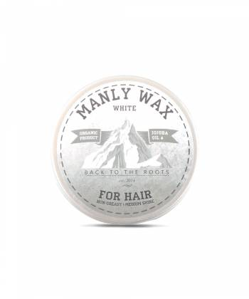 Воск для волос MANLY WAX white, 100 мл