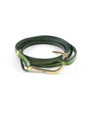 Кожаный браслет с крюком Malabar Hook