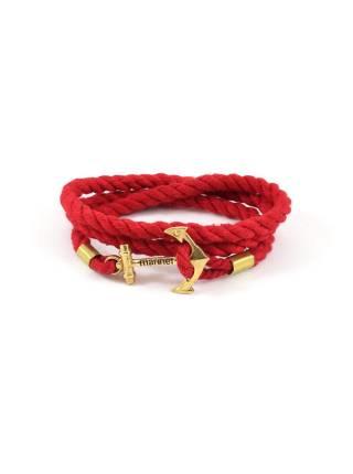 Браслет с якорем Red rope