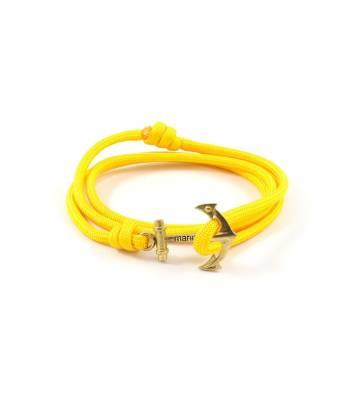 Браслет с якорем MARINER brand Yellow