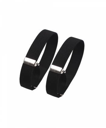 Фиксаторы для рукавов рубашки черного цвета (армбенды)