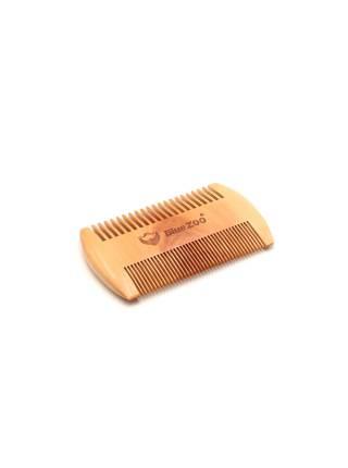 Гребень для бороды и усов из натурального дерева