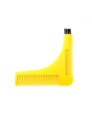 Пластиковая расческа для стайлинга бороды Beard Slyling Tool
