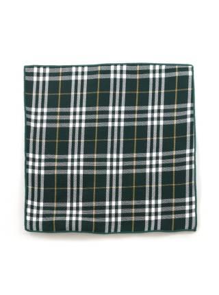 Нагрудный платок зеленый в клетку