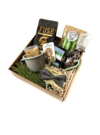 Новогодний подарочный набор для мужчин в коробке №2