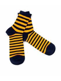 Носки в желтую и черную полоску