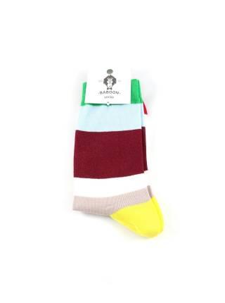 Цветные носки в крупную полоску