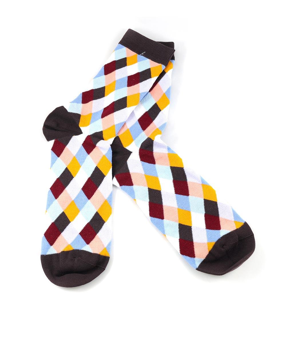 5d1a84b01d9 Цветные носки в ромб в Москве  цена 350 рублей покупай в каталоге ...
