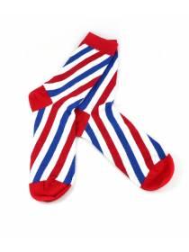 Цветные носки в стиле лампы барбершоп