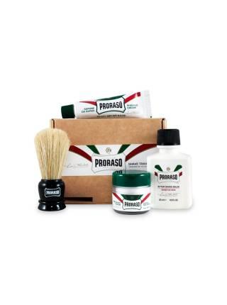 PRORASO Travel Shaving Kit, Дорожный набор для бритья