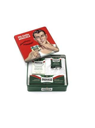PRORASO Vintage Gino Shaving Set, Набор для бритья GINO