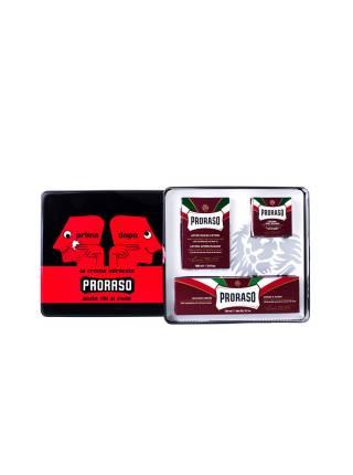 PRORASO Vintage Primadopo Shaving Set, Набор для бритья PRIMADOPO