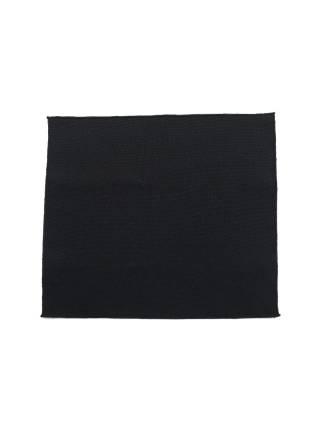 Нагрудный платок черного цвета из полиэстера