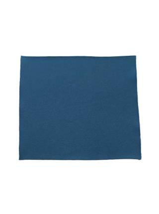 Нагрудный платок темно-бирюзового цвета однотонный