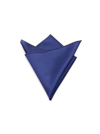 Нагрудный платок темно-синего цвета однотонный