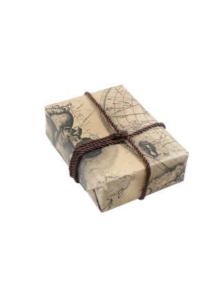 Подарочная упаковка Карта мира 2