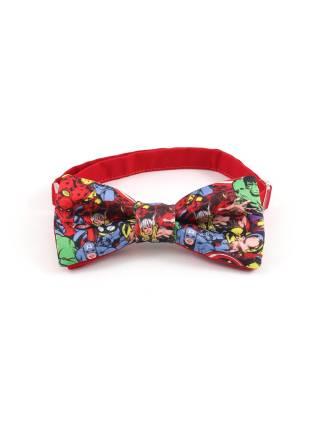 Детский галстук-бабочка с рисунком Комиксы