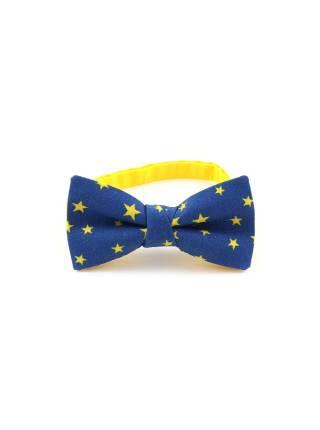 Детский галстук-бабочка с рисунком Звёзды