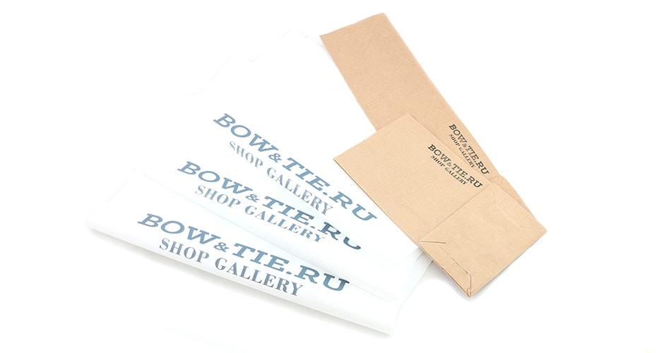 Фирменные пакеты Bowandtie Shop Gallery